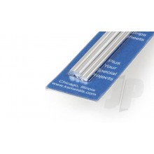 5070 3/32 & 1/8 Bendable Solid Alu Rod 12in (2 Each)