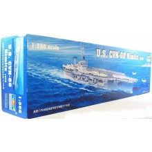 Plastic Kit Trumpeter 1:350 05605 USS Nimitz CVN-68 Model Ship Kit 03307
