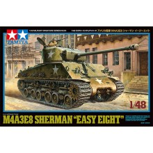 TAMIYA US Medium Tank M4A3E8 Sherman - Easy Eight 1/48
