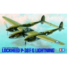 Plastic Kit Tamiya Lockheed P-38 F/G Lightning Kit