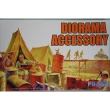 Fujimi WA38 World Armor Diorama Accessory Set 1/76 Scale Kit