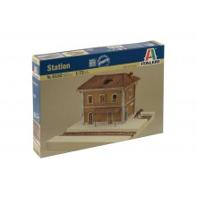 RAILWAY STATION  (1/72 scenery)