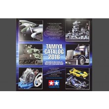 Tamiya 2016 Plastic Model Catalogue