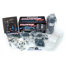 Traxxas Stampede Builders Kit with radio equipment