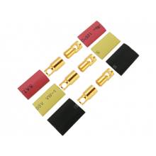Airpower 6 MM Gold Connectors 3 Pairs