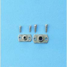 Special anchored nuts M6