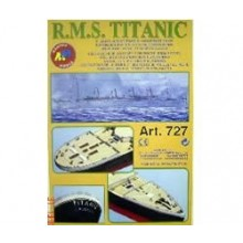 Titanic Kit No.3 (Hull Plating and Deck Fittings Kit) 727