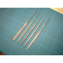 LN1F 18cm Needle files set 5
