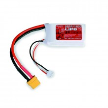 Power Pack LiPo 2/1100 7,4 V 70C XT60