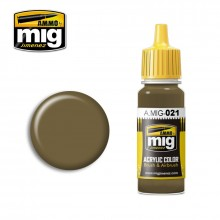 Ammo Mig Jimenez Acrylic 17ml Paint 7K RUSSIAN TAN