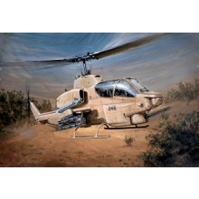 Plastic Kit Italeri 1/48 Scale Bell AH-1W Super Cobra 833