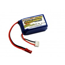 LiPo Batteries 850mAh 3S 11.1v 30C Supersport- SKU 2817