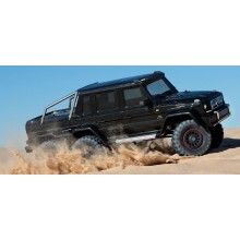 TRX-4 6x6 Mercedes G63 Black (TQi LED Lights) (No Batt/Chg)