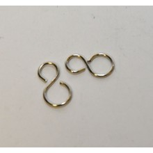 Rigging S Hooks Size 0.7x12mm