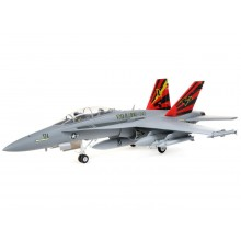 F-18 Hornet 80MM EDF BNF Basic w/AS3X & SAFE