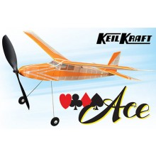Keil Kraft Ace Kit - 30 Inch Free-Flight Rubber Duration