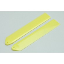 Plastic main Blades 110mm Yellow