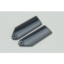 Plastic Tail Blades 35mm-Black