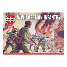 Airfix 1/76 WWII German Infantry A00705V