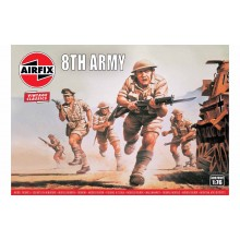 Plastic Kit Airfix Vintage Classics 1/76 WWII British 8th Army A00709V