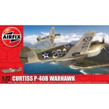 Plastic Kit Airfix Curtiss P-40B Warhawk kit