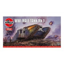 Airfix WWI Male Tank MkI kit