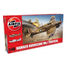 Plastic Kit 1/48 Airfix Hawker Hurricane Mk.I Tropical A05129