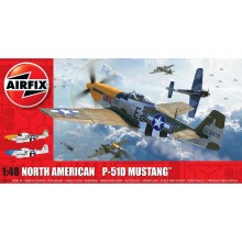 1/48 Airfix North American P-51D Mustang A05138