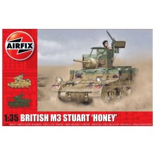 Plastic Kit Airfix British M3 Stuart Honey kit A1358
