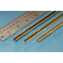 Brass Angle 1mm x 1mm 1 piece