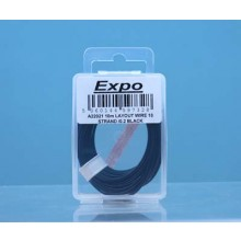 10m LAYOUT WIRE 18 STRAND /0.1 BLACK