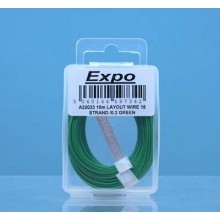 10m LAYOUT WIRE 18 STRAND /0.1 GREEN