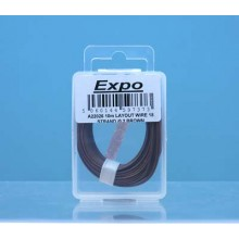 10m LAYOUT WIRE 18 STRAND /0.1 BROWN