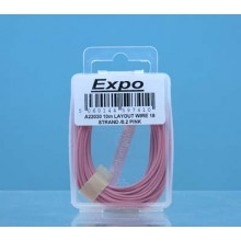 10m LAYOUT WIRE 18 STRAND /0.1 PINK