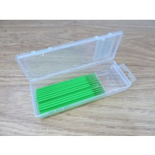 20 Piece Dispenser Box Fine Green Bendable Micro Applicators