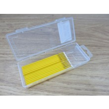 20 Piece Dispenser Box Fine Yellow Bendable Micro Applicators