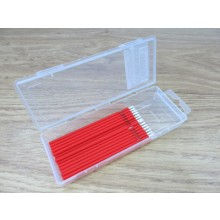 20 Piece Dispenser Box Fine Red Bendable Micro Applicators