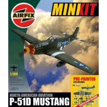Airfix 1/100 North American P-51D Mustang A50074