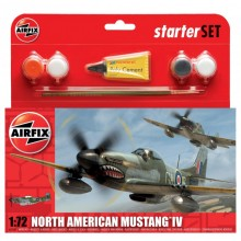 Airfix North American Mustang IV Starter Set 1:72