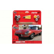 Airfix Medium Starter Set - 1/32 Jaguar E-Type
