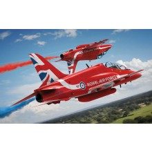 1/72 Airfix RAF Red Arrows Hawk 2015 Starter Set