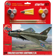 1/72 Airfix English Electric Lightning F.2A Starter Set