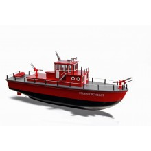 Hacker Fire boat Model Kit