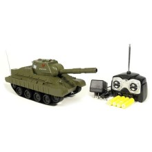 Firing Mini Airsoft BB Battle Tank RC Micro Military Panzer 3886