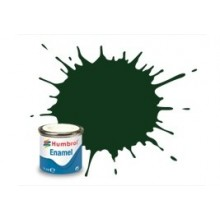 Humbrol AA6330 195 Dark Green Satin - 14ml Enamel Paint