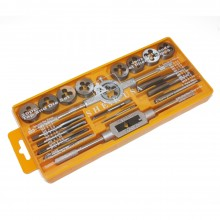Tap & Die Set with Handles (20 Pcs)