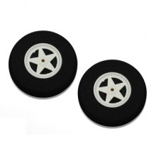 65 mm Super Light Sponge Wheels (Pair)