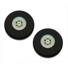 70mm Super Light Sponge Wheels (Pair)