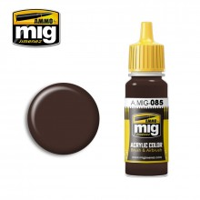 Ammo Mig Jimenez Acrylic 17ml Paint NATO BROWN