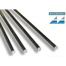 Nickel Silver Rod 0.33 mm (2 pieces) 1 m lengths